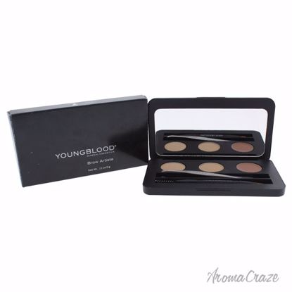 Youngblood Brow Artiste Blonde Pallette for Women 0.11 oz - Eye Makeup | Eye Makeup Kit | Eye Shadow | Eye liner | Eye Mascara | Eye Cosmetics Products | Eye Makeup For Big Eyes | Buy Eye Makeup Online | AromaCraze.com