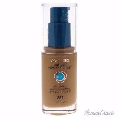 CoverGirl Outlast Stay Fabulous 3-in-1 SPF 20 # 857 Golden Tan Foundation for Women 1 oz - Face Makeup Products | Face Cosmetics | Face Makeup Kit | Face Foundation Makeup | Top Brand Face Makeup | Best Makeup Brands | Buy Makeup Products Online | AromaCraze.com