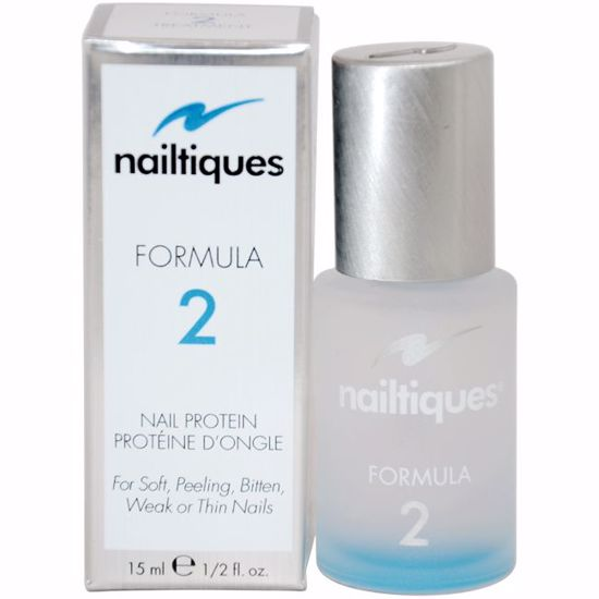 Nailtiques  Nail Protein Formula 2 Treatment for Unisex 0.5 oz - Nails Polish and Nail Colors | Popular Nail Colors | Best Nail Polish Colors | Holiday Nail Colors | Nail Polish Colors For Sale | Nail polish Online | AromaCraze.com