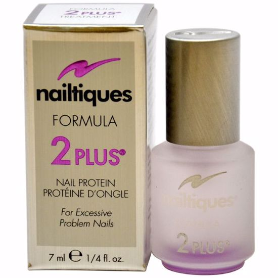Nailtiques Nail Protein Formula # 2 Plus Manicure for Women 0.25 oz - Nails Polish and Nail Colors | Popular Nail Colors | Best Nail Polish Colors | Holiday Nail Colors | Nail Polish Colors For Sale | Nail polish Online | AromaCraze.com