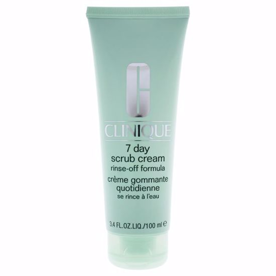 Clinique 7 Day Scrub Cream Rinse Off Formula for Unisex 3.4 oz - Face Makeup Products | Face Cosmetics | Face Makeup Kit | Face Foundation Makeup | Top Brand Face Makeup | Best Makeup Brands | Buy Makeup Products Online | AromaCraze.com