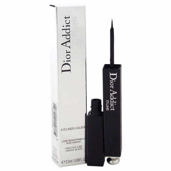 Christian Dior Addict It-Line Eyeliner Liquide Women 0.08 oz - Eye Makeup | Eye Makeup Kit | Eye Shadow | Eye liner | Eye Mascara | Eye Cosmetics Products | Eye Makeup For Big Eyes | Buy Eye Makeup Online | AromaCraze.com