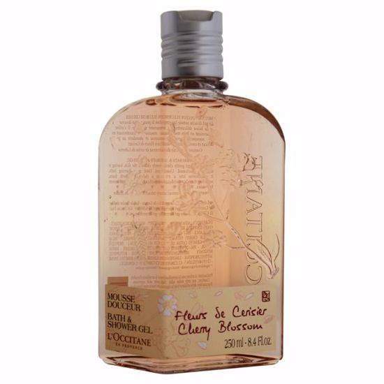 L'Occitane Cherry BlossomWomen Bath Shower Gel 8.4 oz - Makeup Remover Products | Makeup Remover Wipes | Best makeup remover for sensitive skin | Face Makeup Remover | Eye Makeup Remover | Makeup Products on Sale | AromaCraze.com
