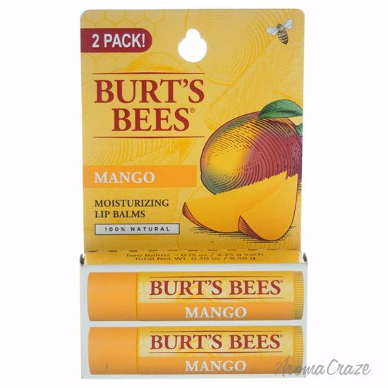 Burt's Bees Mango Moisturizing Lip Balm Twin Pack Unisex 2 x