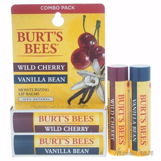 Burt's Bees Wild Cherry & Vanilla Bean Moisturizing Lip Balm