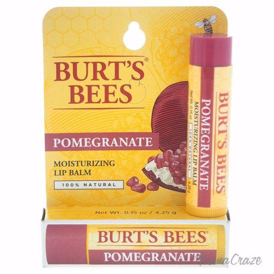 Burt's Bees Pomegranate Moisturizing Lip Balm Blister Unisex