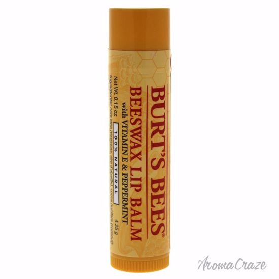 Burt's Bees Beeswax Lip Balm With Vitamin E & Peppermint Uni