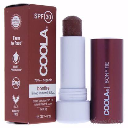 Coola Mineral Liplux SPF 30 Bonfire Copper Bronze Lip Balm f