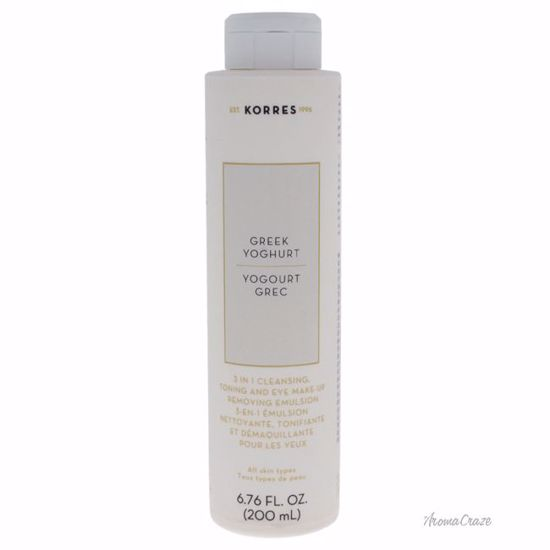 Korres Greek Yoghurt 3-in-1 Cleansing , Toning and Eye Make-