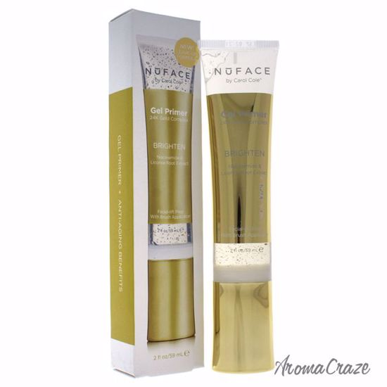NuFace Gel Primer 24K Gold Complex Brighten Primer for Women 2 oz - Face Makeup Products | Face Cosmetics | Face Makeup Kit | Face Foundation Makeup | Top Brand Face Makeup | Best Makeup Brands | Buy Makeup Products Online | AromaCraze.com