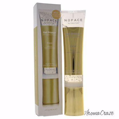 NuFace Gel Primer 24K Gold Complex Firm Primer for Women 2 oz - Face Makeup Products | Face Cosmetics | Face Makeup Kit | Face Foundation Makeup | Top Brand Face Makeup | Best Makeup Brands | Buy Makeup Products Online | AromaCraze.com