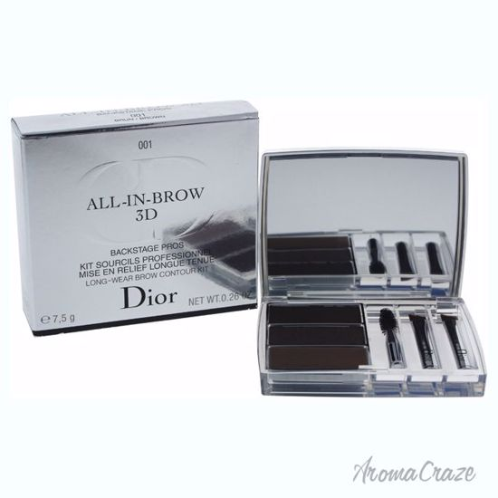 Christian Dior All-In-Brow 3D Long-Wear Brow Contour Kit # 0