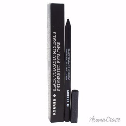 Korres Black Volcanic Minerals Shimmering Eyeliner # 01 Blac