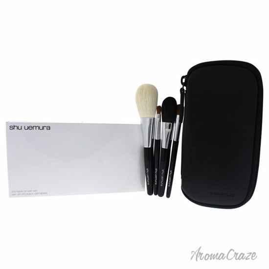 Shu Uemura Portable Makeup Brush Set Face Brush, Cheek Brush