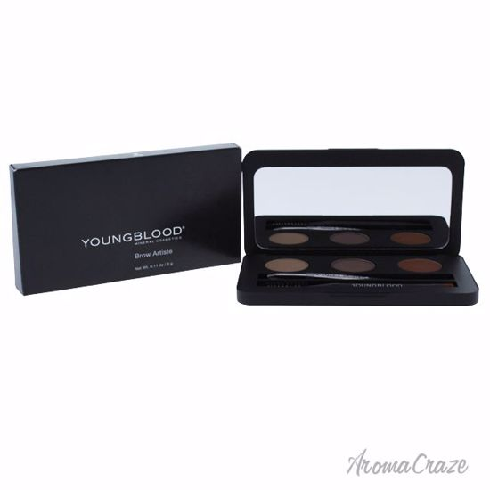 Youngblood Brow Artiste Dark Pallette for Women 0.11 oz