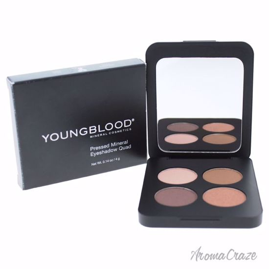 Youngblood Pressed Mineral Eyeshadow Quad Timeless for Women