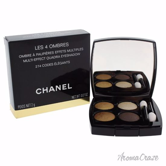 Chanel Les 4 Ombres Multi-Effect Quadra Eyeshadow # 274 Code