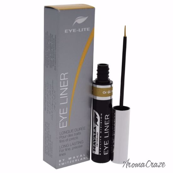 Mavala Eye-Lite Eyeliner Or Glamour Liquid for Women 0.16 oz