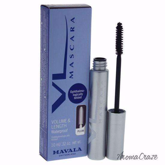 Mavala Mascara Volume & Length Waterproof Plum for Women 0.3