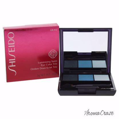 Shiseido Luminizing Satin Eye Color Trio # GR412 Lido Eye Co