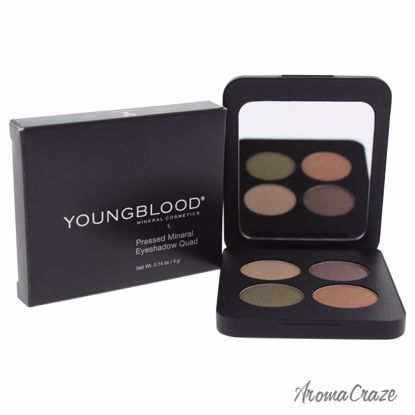 Youngblood Pressed Mineral Eyeshadow Quad Gemstones for Wome