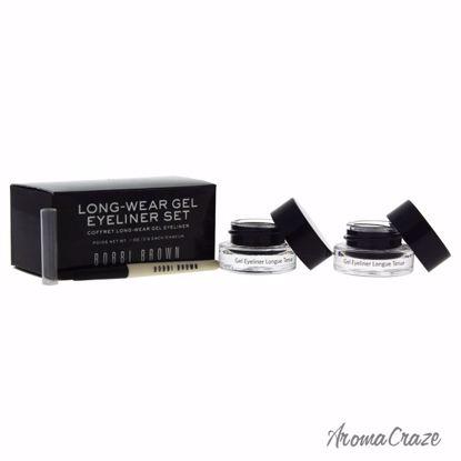 Bobbi Brown Long-Wear Gel Eyeliner Set Black Ink 2 x 0.1oz L