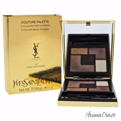 Yves Saint Laurent Couture Palette # 13 Nude Contouring Eyeshadow for Women 0.18 oz - Eye Makeup | Eye Makeup Kit | Eye Shadow | Eye liner | Eye Mascara | Eye Cosmetics Products | Eye Makeup For Big Eyes | Buy Eye Makeup Online | AromaCraze.com