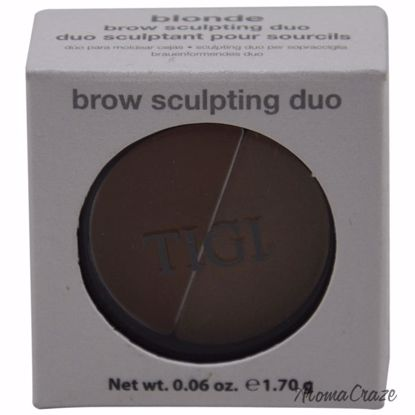 TIGI Brow Sculpting Duo Blonde Eyeshadow for Women 0.06 oz - Eye Makeup | Eye Makeup Kit | Eye Shadow | Eye liner | Eye Mascara | Eye Cosmetics Products | Eye Makeup For Big Eyes | Buy Eye Makeup Online | AromaCraze.com