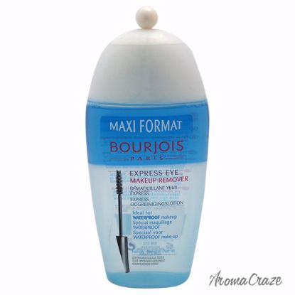 Bourjois Maxi Format Express Eye Makeup Remover for Women 6.8 oz - Eye Makeup | Eye Makeup Kit | Eye Shadow | Eye liner | Eye Mascara | Eye Cosmetics Products | Eye Makeup For Big Eyes | Buy Eye Makeup Online | AromaCraze.com