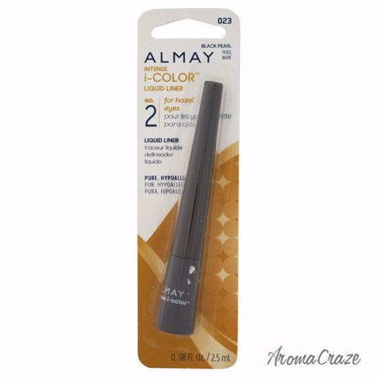 Almay Intense I-Color Liquid Liner # 023 Black Pearl Eyeliner for Women 0.08 oz - Eye Makeup | Eye Makeup Kit | Eye Shadow | Eye liner | Eye Mascara | Eye Cosmetics Products | Eye Makeup For Big Eyes | Buy Eye Makeup Online | AromaCraze.com