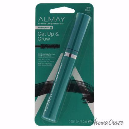 Almay Get Up & Grow Waterproof Mascara # 040 Black for Women