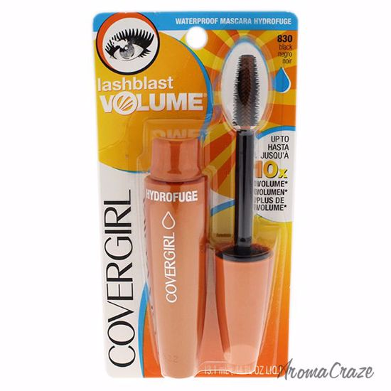 CoverGirl Lashblast Volume Waterproof Mascara # 830 Black for Women 0.44 oz - Eye Makeup | Eye Makeup Kit | Eye Shadow | Eye liner | Eye Mascara | Eye Cosmetics Products | Eye Makeup For Big Eyes | Buy Eye Makeup Online | AromaCraze.com