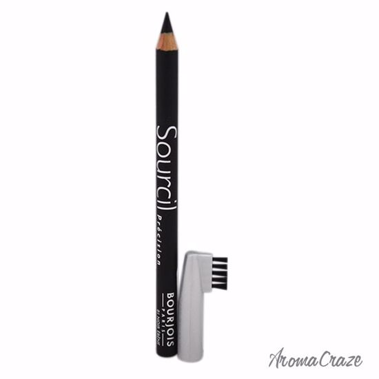 Bourjois Sourcil Precision Eyebrow Pencil # 01 Noir Ebene for Women 0.04 oz - Eye Makeup | Eye Makeup Kit | Eye Shadow | Eye liner | Eye Mascara | Eye Cosmetics Products | Eye Makeup For Big Eyes | Buy Eye Makeup Online | AromaCraze.com