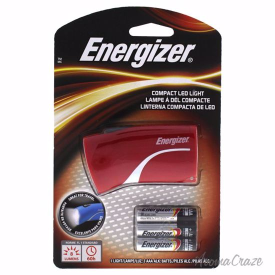 Energizer Compact LED Red Flashlight Unisex 1 Pc - Makeup Tools and Accessories | Makeup Accessories | Beauty Tools | AromaCraze.com