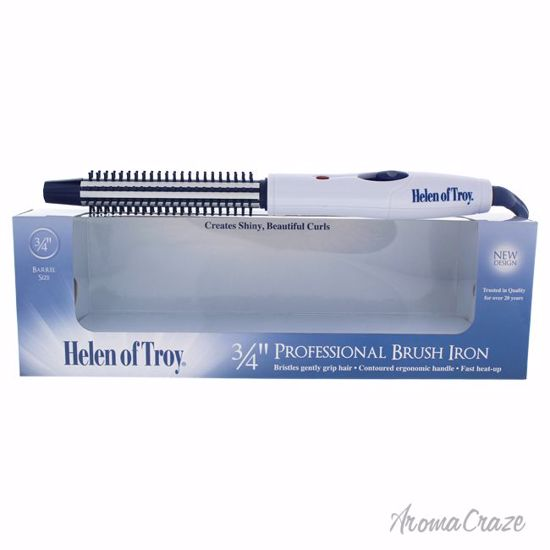 Helen Of Troy Professional Brush Iron Model # 1511 White Unisex 3/4 Inch - Face Makeup Products | Face Cosmetics | Face Makeup Kit | Face Foundation Makeup | Top Brand Face Makeup | Best Makeup Brands | Buy Makeup Products Online | AromaCraze.com