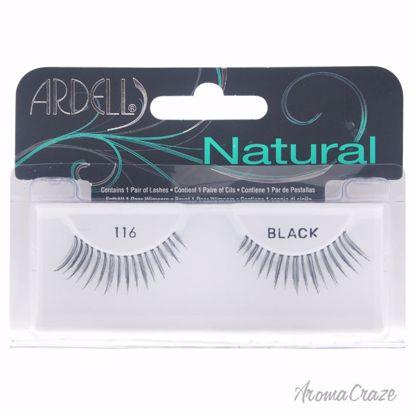 Ardell Natural Lashes # 116 Black Eyelashes for Women 1 Pair