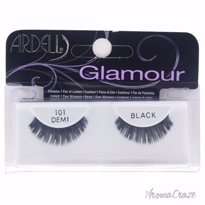 Ardell Glamour Lashes # 101 Black Eyelashes for Women 1 Pair