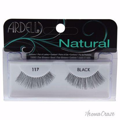 Ardell Natural # 117 Black Eyelashes for Women 1 Pair