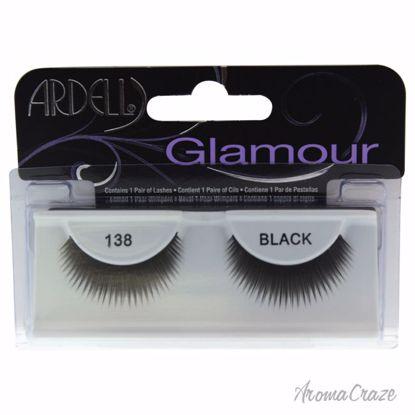 Ardell Glamour # 138 Black Eyelashes for Women 1 Pair