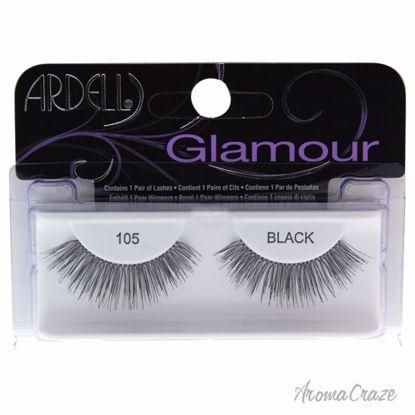 Ardell Glamour # 105 Black Eyelashes for Women 1 Pair