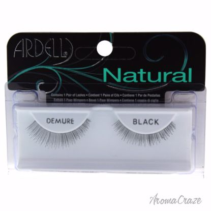 Ardell Natural Demure Black Eyelashes for Women 1 Pair