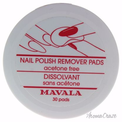 Mavala Nail Polish Remover Pads for Women 30 Pc