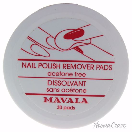 Mavala Nail Polish Remover Pads for Women 30 Pc - Nails Polish and Nail Colors | Popular Nail Colors | Best Nail Polish Colors | Holiday Nail Colors | Nail Polish Colors For Sale | Nail polish Online | AromaCraze.com