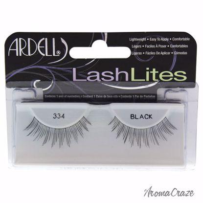 Ardell LashLites # 334 Black Eyelashes for Women 1 Pair