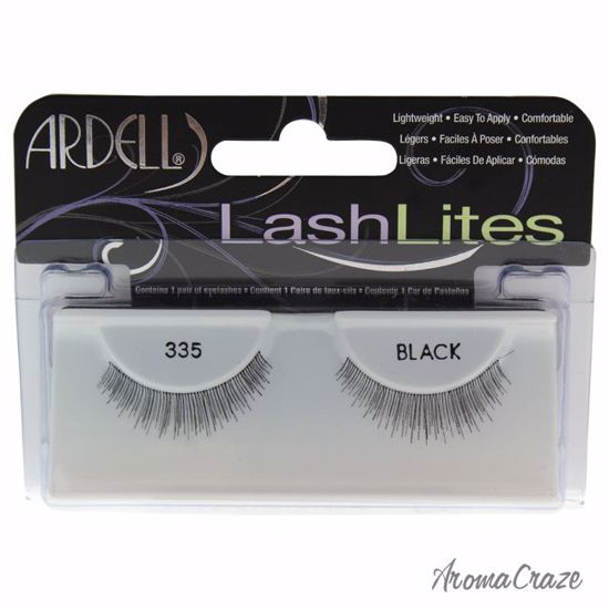 Ardell LashLites # 335 Black Eyelashes for Women 1 Pair - Eye Makeup | Eye Makeup Kit | Eye Shadow | Eye liner | Eye Mascara | Eye Cosmetics Products | Eye Makeup For Big Eyes | Buy Eye Makeup Online | AromaCraze.com