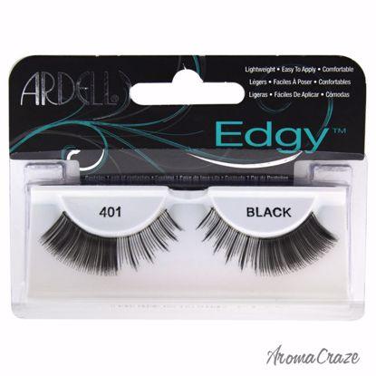 Ardell Edgy Lashes # 401 Black Eyelashes for Women 1 Pair