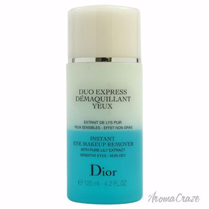 Christian Dior Instant Eye Makeup Remover (Tester) Unisex 4.2 oz - Makeup Remover Products | Makeup Remover Wipes | Best makeup remover for sensitive skin | Face Makeup Remover | Eye Makeup Remover | Makeup Products on Sale | AromaCraze.com