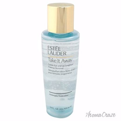 Estee Lauder Take It Away Gentle Eye and Lip Long-Wear Makeup Remover All Skin Types for Women 3.4 oz - Makeup Remover Products | Makeup Remover Wipes | Best makeup remover for sensitive skin | Face Makeup Remover | Eye Makeup Remover | Makeup Products on Sale | AromaCraze.com