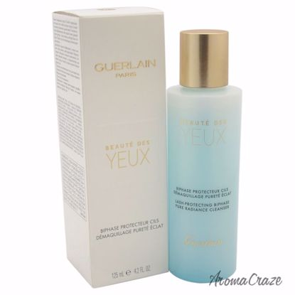 Guerlain Beaute des Yeux Biphase Eye Makeup Remover for Women 4.2 oz - Makeup Remover Products | Makeup Remover Wipes | Best makeup remover for sensitive skin | Face Makeup Remover | Eye Makeup Remover | Makeup Products on Sale | AromaCraze.com