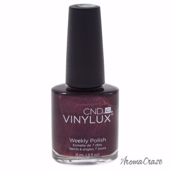 CND Vinylux Weekly Polish # 110 Dark Lava Nail Polish for Women 0.5 oz - Nails Polish and Nail Colors | Popular Nail Colors | Best Nail Polish Colors | Holiday Nail Colors | Nail Polish Colors For Sale | Nail polish Online | AromaCraze.com